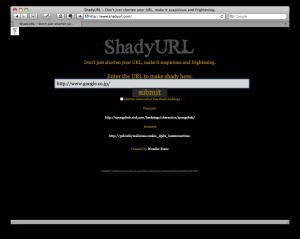 ShadyURL top