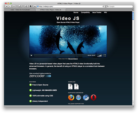 HTML5 Video Player | Video JS