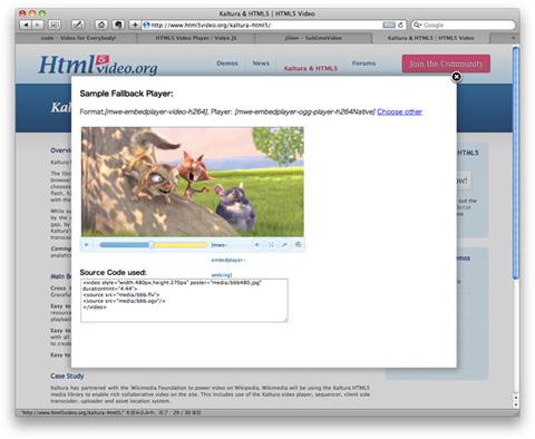 Kaltura & HTML5 | HTML5 Video