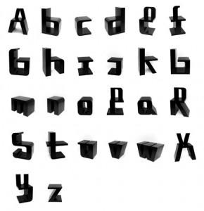 アルファベットチェア2