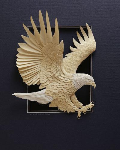 紙の彫刻1