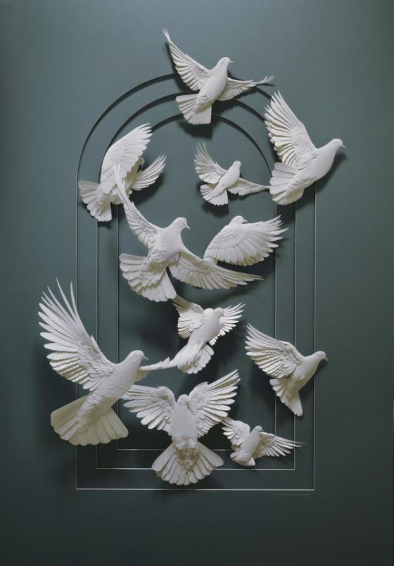 紙の彫刻2