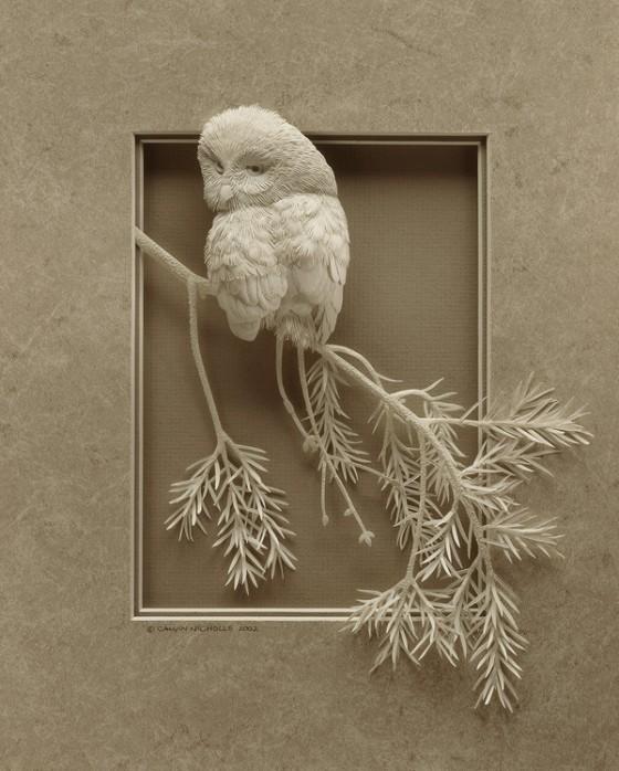 紙の彫刻3