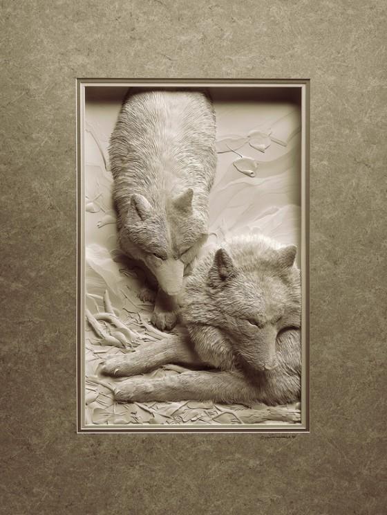 紙の彫刻4