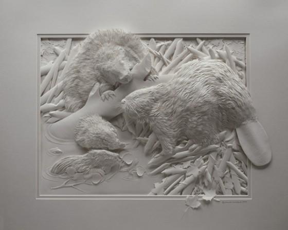紙の彫刻5