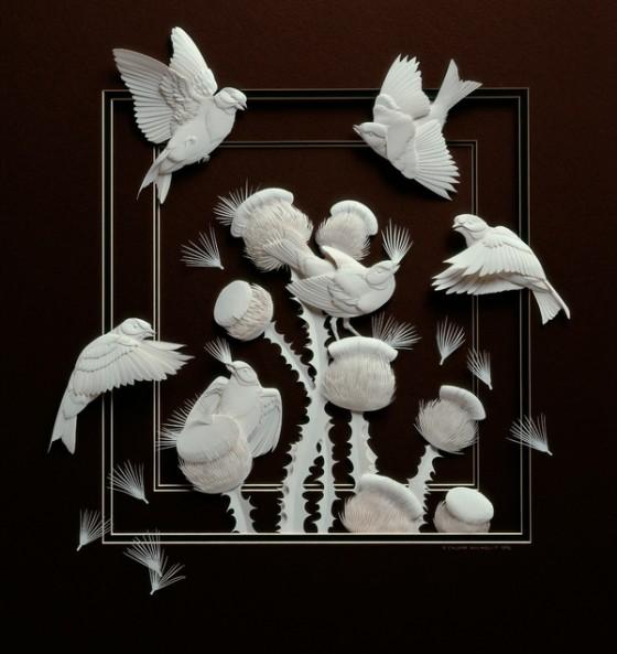 紙の彫刻6