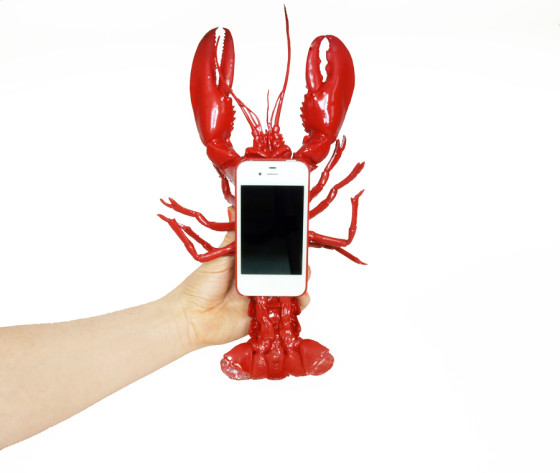 LOBSTER MOBILE TELEPHONE CASE